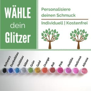 Glitzerauswahl milk-design Manufaktur