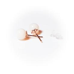 Rose Perlenstecker | milk-design Manufaktur