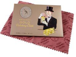 Poliertuch für Goldschmuck