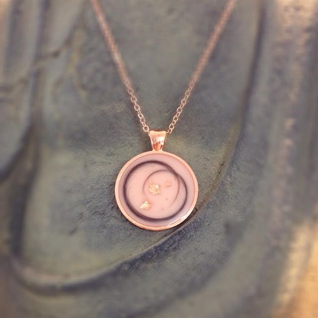 Mourning jewelry | Necklace
