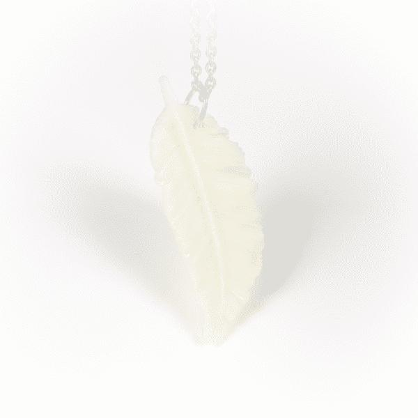 Halskette Feder