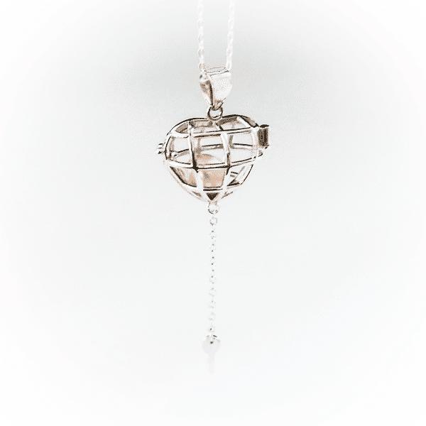 Halskette Schlüsselherz