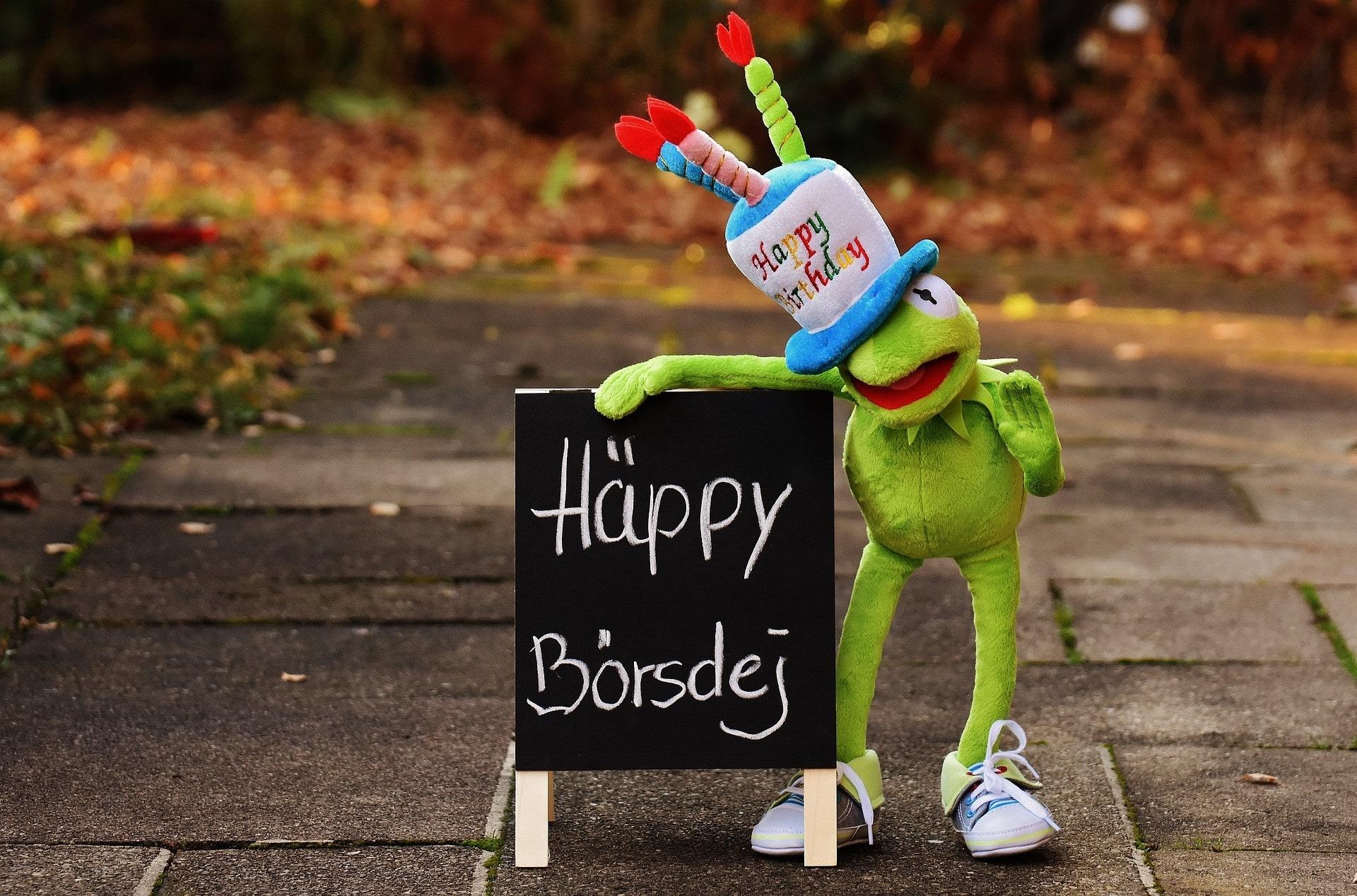 Geburtstag | Lustiger Frosch
