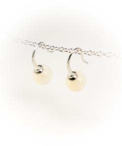Earrings pearl sheen
