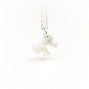Halskette Schleifchen