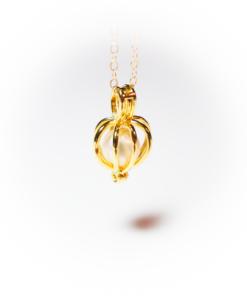 Golden pearl crown   milk-design Manufaktur