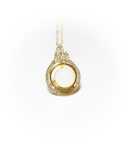 Golden crystal star   milk-design Manufaktur