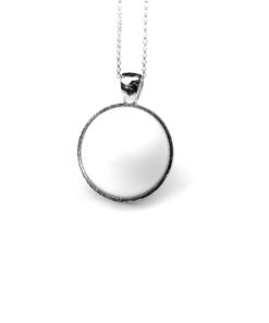 Round silver | milk-design Manufaktur
