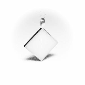 Silberne Raute | milk-design Manufaktur