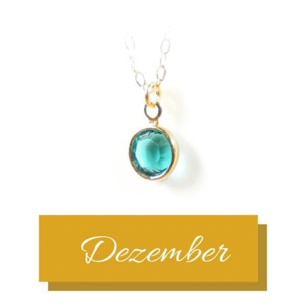 Goldener Geburtsstein | Dezember | Erinnerungsschmuck