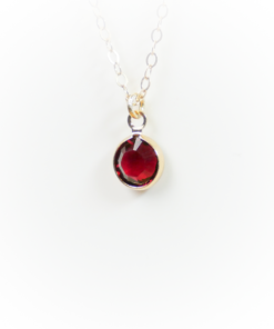 Golden birthstone | January | Remembrance jewellery