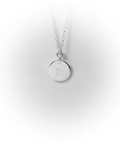 Silver letter platelets | milk-design Manufaktur
