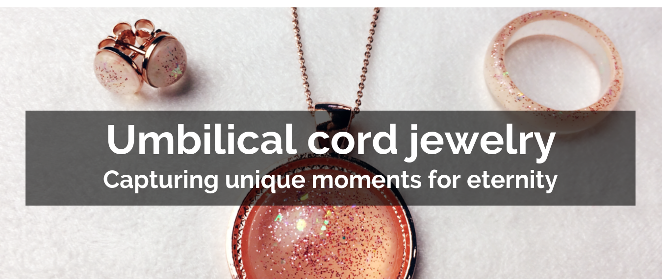 Umbilical cord jewelry